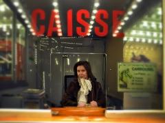 La caissière - Jean_pierre Lefrançois