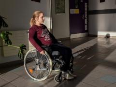 """1er régional - """"Parcours du handicap"""", classe de 6ème du Collège Jean-Rostand, Armentières"""