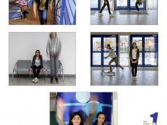 """Classe de 6ème-Collège Jean Rostand - Thème """"contraste"""" -  """"net-flou""""- Armentières"""