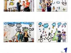 """Ecole primaire publique Roger Salengro - thème """"contraste"""" - """"Quatre-Saisons"""" - Armentières"""