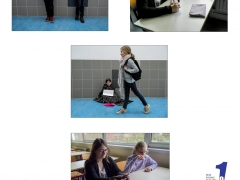 """Classe de 6ème-Collège Jean Rostand - Thème """"contraste"""" - """"Richesse-pauvreté"""" - Armentières"""
