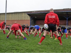 l'entrainement des jeunes au printemps 2018 - Reportage, CLLA Rugby - Christian Silvert