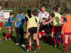 l'entrainement des jeunes au printemps 2018 - Reportage, CLLA Rugby -  Jean-Luc Catoire