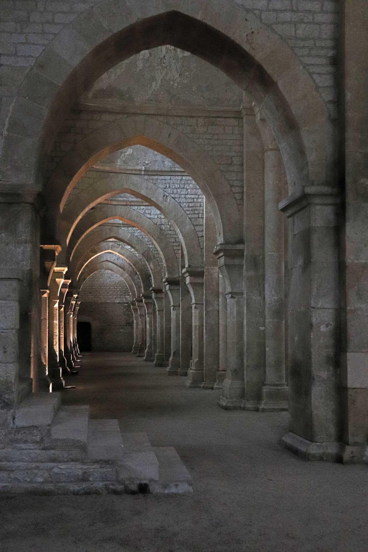 Evelyne Vandendriessche, Abbaye de Fontenay