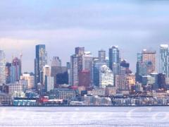 """Portfolio - Francine Vicaire Costenoble - """" Seattle front de mer"""" - 2017"""