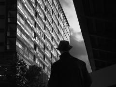 l'homme au chapeau Jean-Pierre Lefrançois