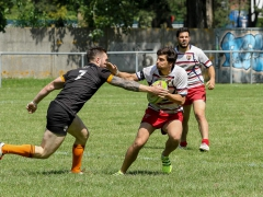 Les finales territoriales à 7 - Reportage, CLLA Rugby - Dider Dehan, le 27 mai