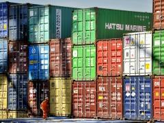 """Rotterdam containers"" Jean-Pierre Lefrançois"