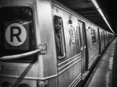 New-York Subway par Stéphane Duquesnoy, 2018