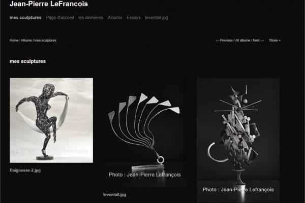 mes sculptures - Jean-Pierre LeFrancois - 1