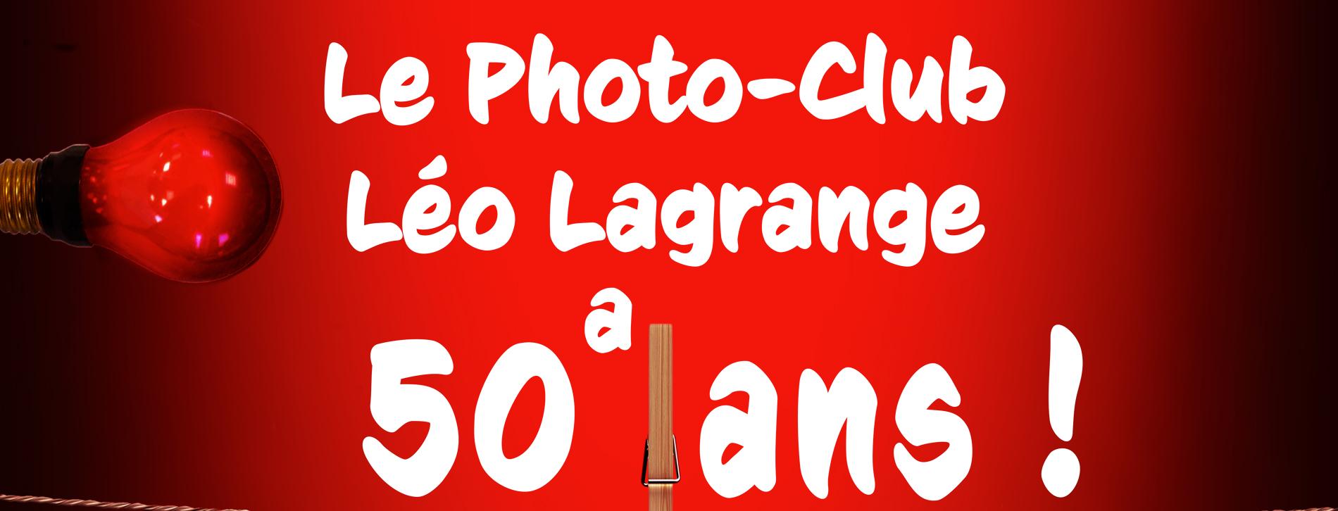 L'Affiche des 50 ans du Photo Club