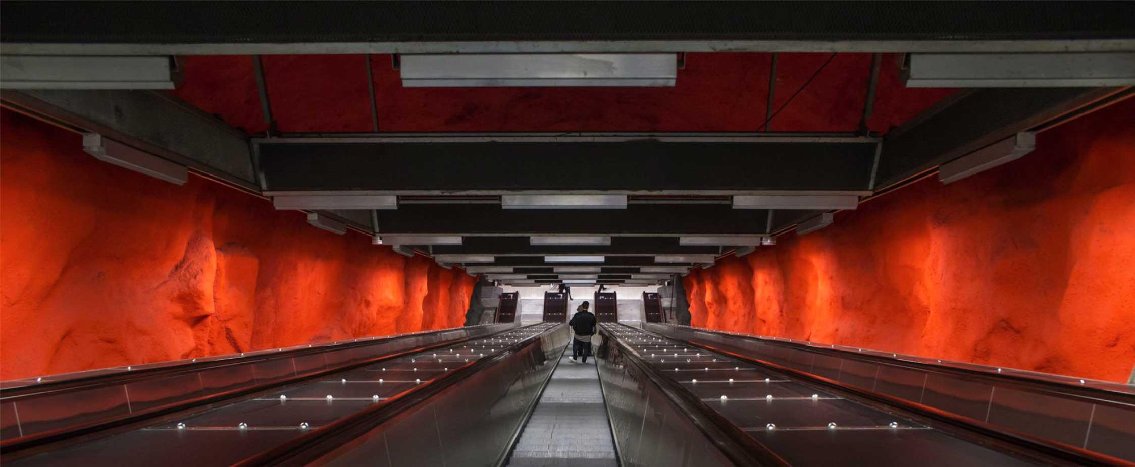Métro Stockholm - Stéphane Duquesnoy - 187e