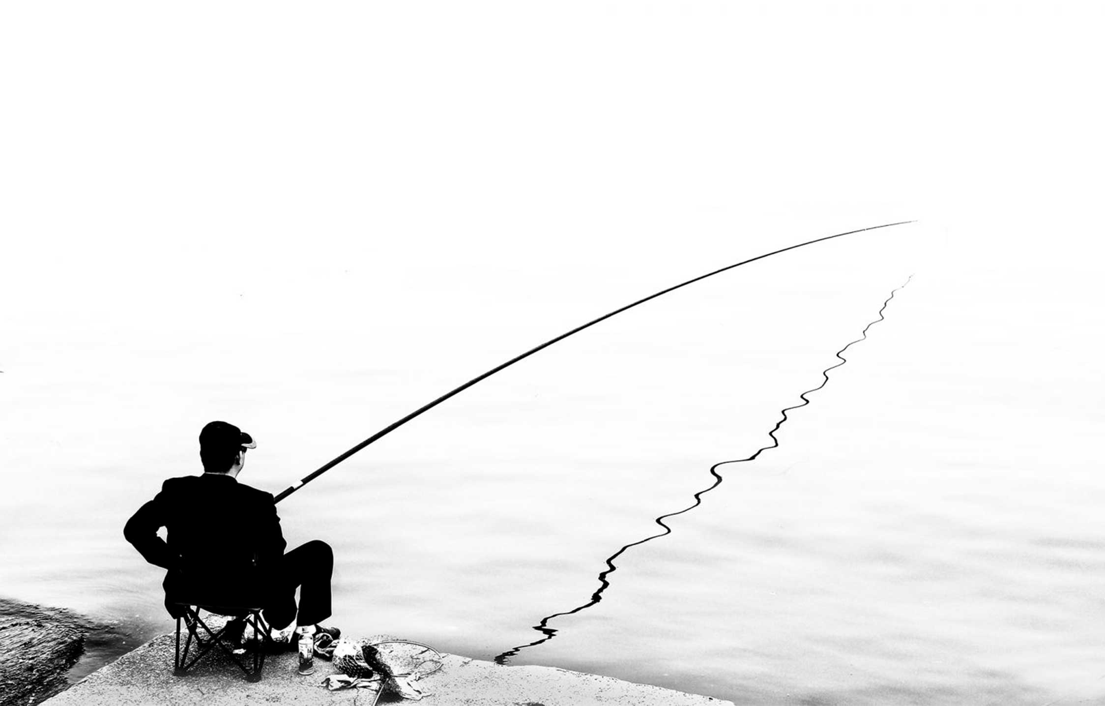 pêche à la ligne - Paul Bonte - 63e