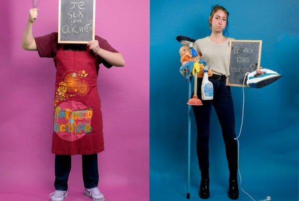 Hélène DECAESTECKER – « un portrait pour l'égalité de genre » - Classé 2ème au concours Jeunes Auteurs FPF 18-25 ans